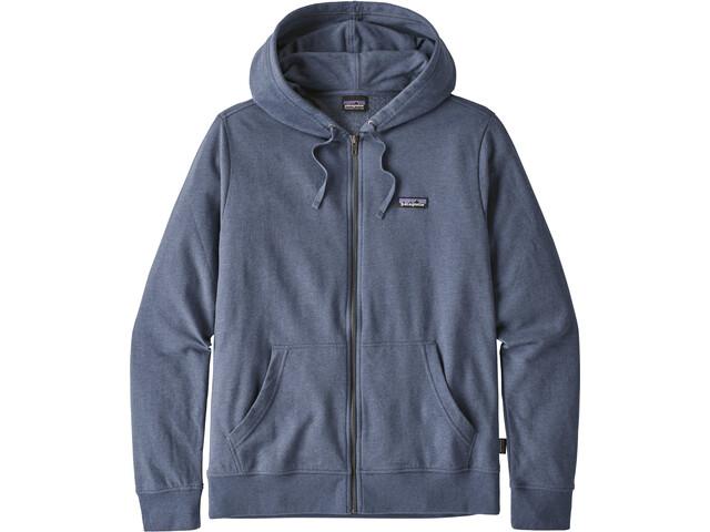 Patagonia P-6 Label LW Full Zip Hoody Herr dolomite blue